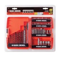 Negro & Decker 71-966 De Perforación Y Atornillado Set 66 Pi