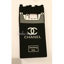 Funda S6 Edge Plus Galaxy Chanel Cigarrera Samsung Silicon