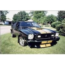 Spoiler Frontal Mustang Ii Cobra 74 78 Ford Nuevo Auto Ddi