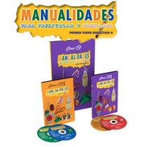 Manualidades Para Preescolar Y Primaria 1 Vol Y 4 Dvd