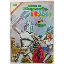 Kid Acero No 62 Escuadron Lobo Ed. Novaro Brazo Bala Hm4