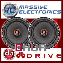 Set De Bocinas 6.5 Db Drive Okur S3 60 300w Exc Medios Dpa