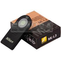 Control Remoto Ml-l3 Nikon D7000 D5100 D5000 D3000 D90 D70