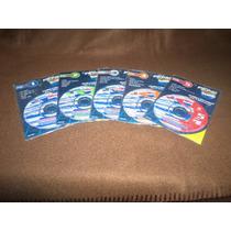Kabah,elan,kalimba,chayanne -cd Minidisk-pepsi 1,2,3,4,5 Fdp