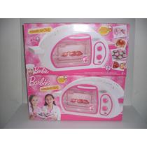 Barbie Hornito Chef Cocina Postres De Verdad 11 Accesorios