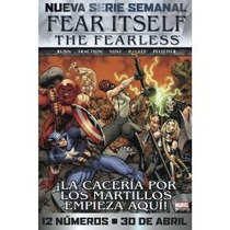 Comic Fear Itself Num 2 Marvel Mexico Spiderman Televisa