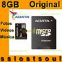8gb Adata Micro Sdhc Original Nueva En Blister Envío Express