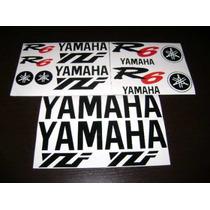 Jgo De Calcomanias Para Moto Yamaha Yzf R6