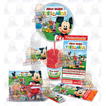 Kit Imprimible Fiesta Infantil Con Invitación Ticketmaster