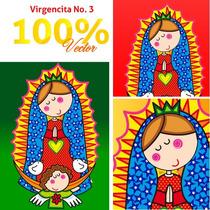 Virgencitas Y Santitos Para Imprimir A Gran Escala Vol. 3