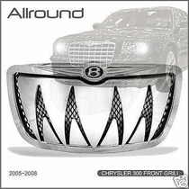 Parrilla Shark Cromada Bentley Chrysler 300c 05 06 07 08 Srt