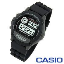 Reloj Casio W87 Cronometro, Alarma Illuminator Señal Horaria