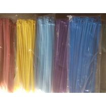 Cinchos De Nylon Medida 2.5 X 100 Mm Colores Precio Millar
