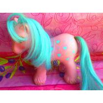 Mi Pequeno Pony Tipo Espanol Con Corazones De Los 80s