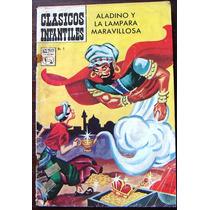 Historieta Aladino Y La Lampara Maravillosa N°9