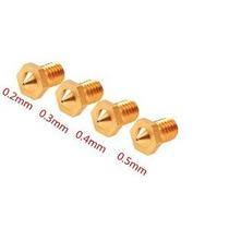 Qauick 4 Pc J-3d Cabeza De 0,2 Mm 0,3 Mm 0,4 Mm 0,5 Mm Extru