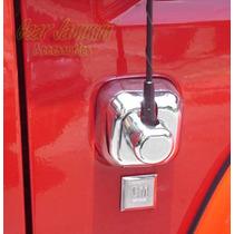 Cromo Base Antena Hummer H3 2006 Al 2010 Importada Sp0