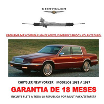 Caja Direccion Hidraulica Cremallera Chrysler New Yorker Vmj