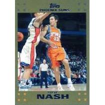 2007-08 Topps Gold #13 Steve Nash Soles De Phoenix