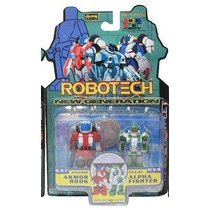 Robotech I-men Cyclone Armor Rook Y Alpha Fighter
