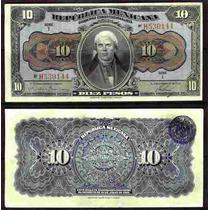 Si-df-6 10 Pesos Republica Mexicana 10 Pesos