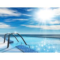 Mosaico Veneciano Alberca Azul Acapulco 2x2 Ofertas Op4