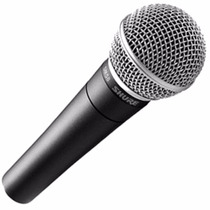 Micrófono Vocal Shure Dinámico Sm58-lc