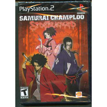 Ps2 Samurai Champloo Nuevo Envio Gratis
