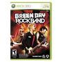 Juego Rock Band Green Day Xbox 360 Nuevo Blakhelmet