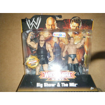 Wwe Big Show Vs The Miz Excusivo Toysrus Mattel