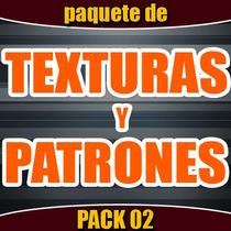 Gran Paquete Texturas Y Patrones 02 Para Fondos, Photoshop