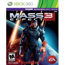 Mass Effect 3 Para Xbox 360 Nuevo Y Sellado Op4 Pm0 Mn4
