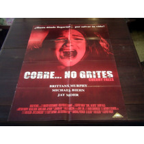 Poster Original Cherry Falls Corre No Grites Brittany Murphy