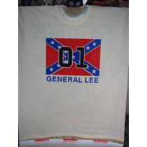 Playera Bandera Dukes De Hazzard General Lee Aerografia