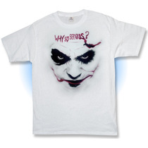 Playera, Joker, Why So Serious, Batman, Comic, Guason, Wason