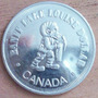 1 Dollar 1982 Canada Lago Louise Parque Nacional Banff - Hm4