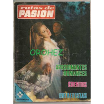 Fotonovela Mexicana Rutas De Pasión De Junio 1970