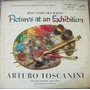 Clasica, Arturo Toscanini, Pictures At An Exhibition, Lp12´,
