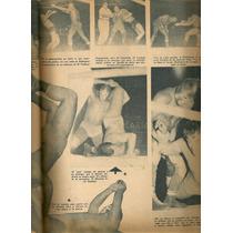 Blue Demon Frankestein Y Más Revista Ko Lucha Libre Mex 1954