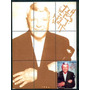 Frank Sinatra  9  Estampillas  Hojita Souvenir Mdn