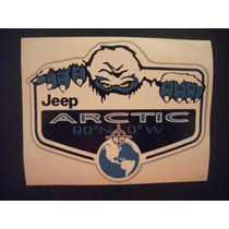 Calcomania Sticker Jeep Wrangler Sahara Artic