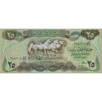 Grr-billete De Iraq 25 Dinars 1982 - Caballos Arabes
