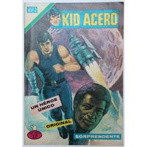Kid Acero No 1 Escuadron Lobo Ed. Novaro Brazo Bala Hm4