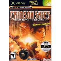 Xbox Crimson Skies High Road To Revenge