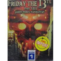 Dvd Pelicula : Viernes 13 Parte 8 Jason Toma Manhattan