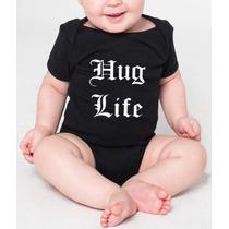 Pañalero Bebé Personalizado Diseño Hug Life Varias Tallas