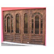 Puerta Arcolumna De Herreria Rustica Fina