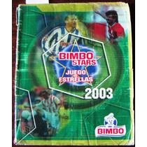 Álbum,bimbo Stars,juego De Estrellas Del Futbol De Mexico