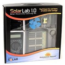 Laboratorio Solar 1.0 Kit Solar Electricidad Aprendizaje