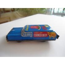 Vintage 1960s Carro De Lámina Y Fricción Corned Beef Japón